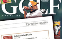 Golf Magazine — Top 10 Best New Golf Courses: Colorado Golf Club